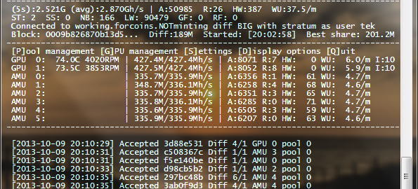 Bitcoin Mining Client cgminer as a systemd Service - nfobits tek